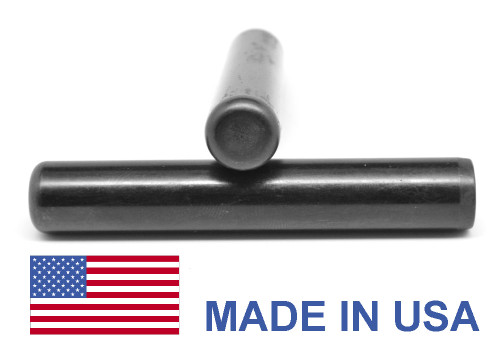 1 x 3 1/2 Dowel Pin Hardened & Ground - USA Alloy Steel Ebony Finish