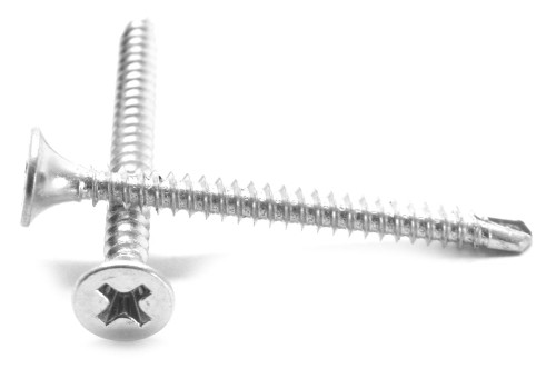 #6-20 x 1 5/8 Self Drilling Drywall Screw Phillips Bugle Head Stainless Steel 410