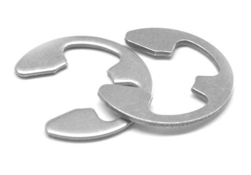 .188 E-Clip (External E-Ring) For 0.147 Groove Stainless Steel 15-7