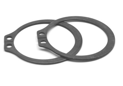 .375 External Retaining Ring Medium Carbon Steel Black Phosphate