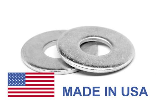 #8 Flat Washer Type B Regular Pattern - USA Stainless Steel 18-8