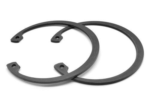 .375 Internal Retaining Ring Medium Carbon Steel Black Phosphate