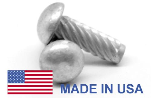 #2 x 1/4 MS21318 Metallic Drive Screw Type U Round Head Low Carbon Steel Cadmium Plated