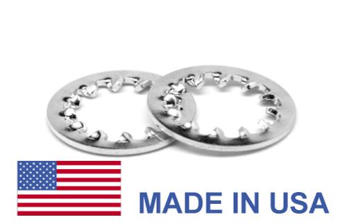 #6 MS35333 Internal Tooth Lockwasher - USA Stainless Steel 410