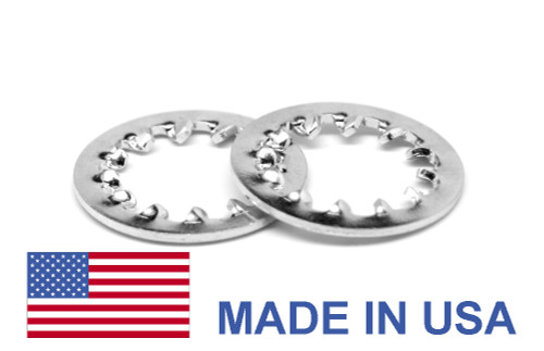 5/16 MS35333 Internal Tooth Lockwasher - USA Stainless Steel 410