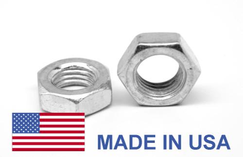 1/4-20 Coarse Thread MS35649 Hex Machine Screw Nut - USA Low Carbon Steel Cadmium Plated
