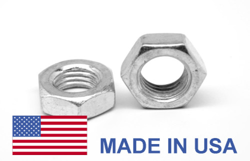 3/8-16 Coarse Thread MS35649 Hex Machine Screw Nut - USA Low Carbon Steel Cadmium Plated