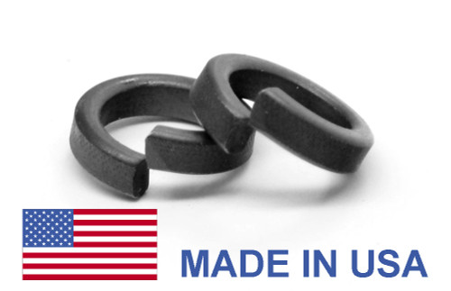 #10 MS51848 Hi-Collar Split Lockwasher - USA Alloy Steel Black Phosphate