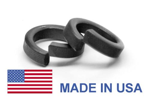 #8 MS51848 Hi-Collar Split Lockwasher - USA Alloy Steel Black Phosphate
