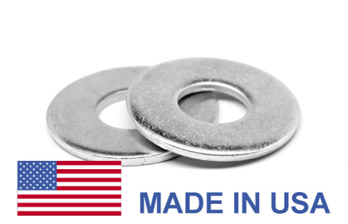 1/4 NAS620L Flat Washer - USA Stainless Steel 18-8