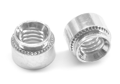 1/4-28-0 Fine Thread Self Clinching Nut Low Carbon Steel Zinc Plated