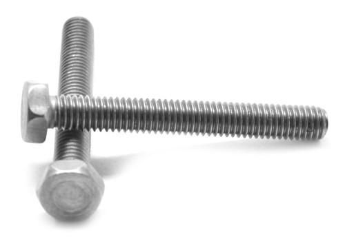 """#10-24 x 1 1/4"""" (FT) Coarse Thread Machine Screw Hex Head Stainless Steel 316"""