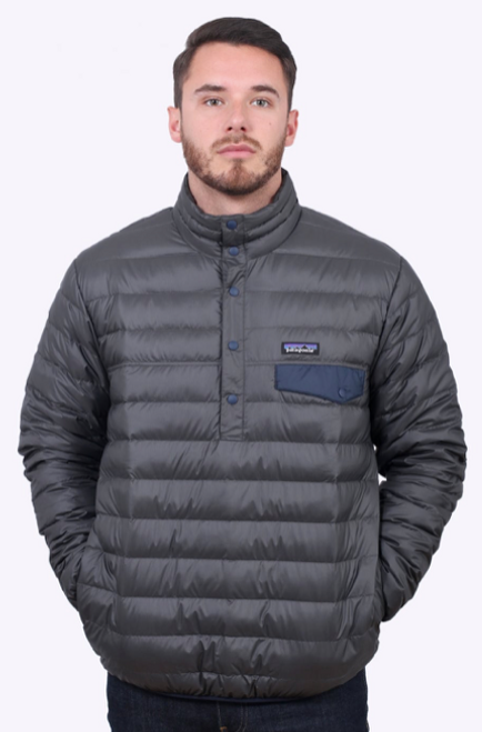 Men's Down Snap-T P/O Forge Grey