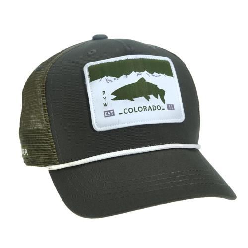 COLORADO LICENSE PLATE HAT