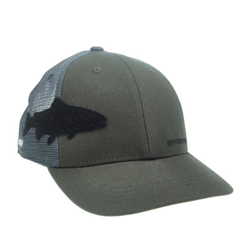 TROUT FLY PATCH HAT