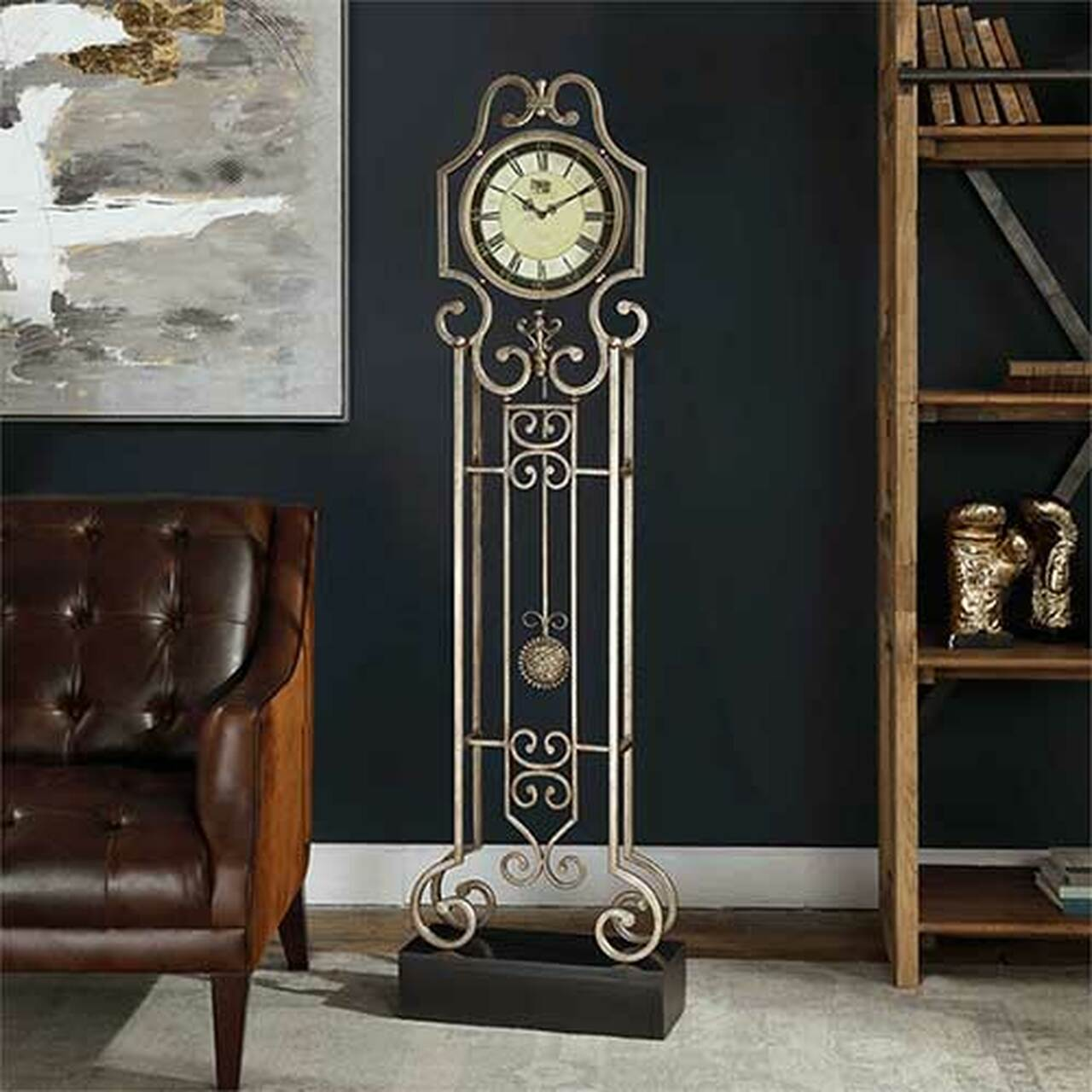 Marty Rae S Uttermost S Briella Floor Clock R06444 Orangeburg