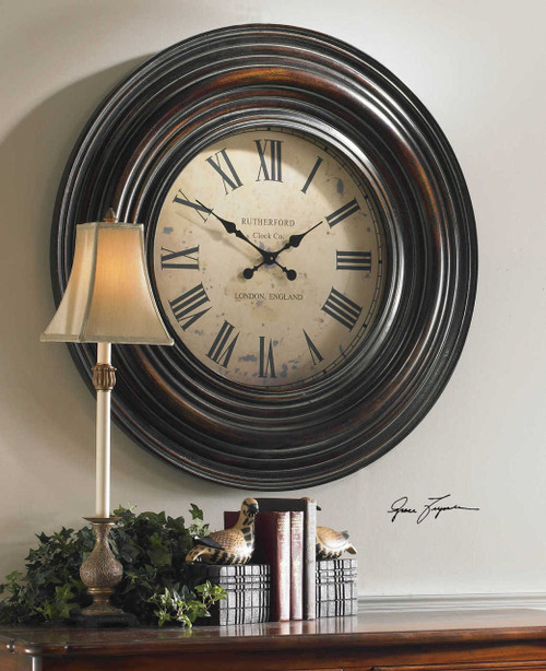 Rutherford 24 Hour Wall Clock