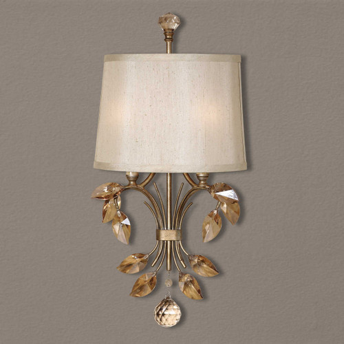 Uttermost's Alenya, 2 Lt Wall Sconce at Marty Rae's of Orangeburg