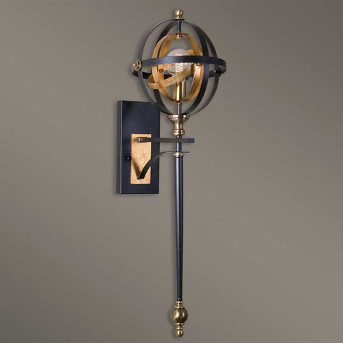 Rondure, 1 Lt. Wall Sconce