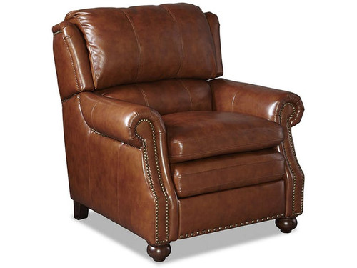 Craftmaster Pub Back Leather Recliner