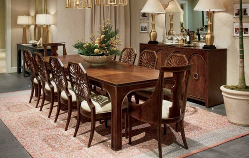 Stanley Furniture's Havana Crossing Collection Dining Room Table