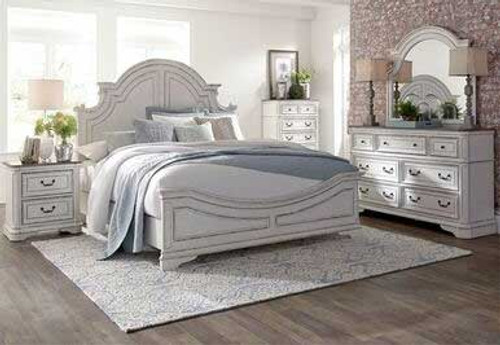 Liberty's Magnolia Manor Queen Panel Bed.  Also available as a King Panel Bed.