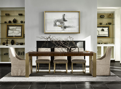 Universal Furniture's Gibson Dining Table available at Marty Rae's of Orangeburg