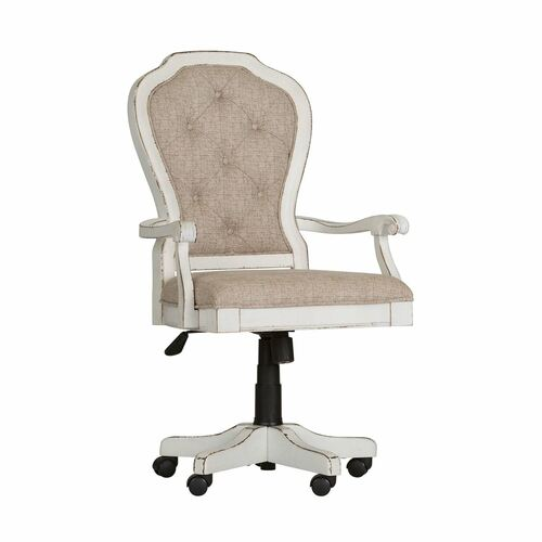 Liberty Furniture's Magnolia Manor Jr Executive Desk Chair ~ Silo