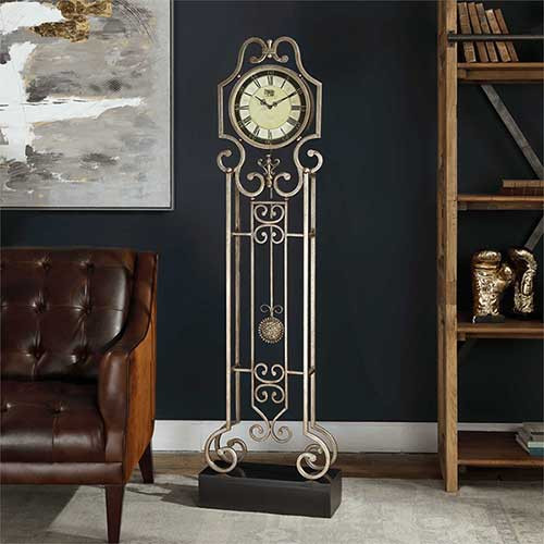 Uttermost's Briella Floor Clock