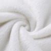 Button Plush Fuzzy White Sexy Women Body Suit Tops Winter Warm Casual Bodycon Long Sleeve Bodysuits