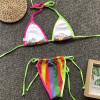 Extreme bikini Micro brazilian swimsuit female bathers Push up sexy swimwear women String bathing suit Triangle bikini 2019 new