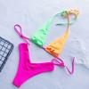 Two Piece Bandage Swimsuit Brazilian Thong Bikini Push Up Swimwear Women High Waisted Bathing Suits Bikinis 2019 Mujer Biquini