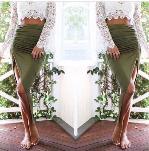 Crunchy Skirt