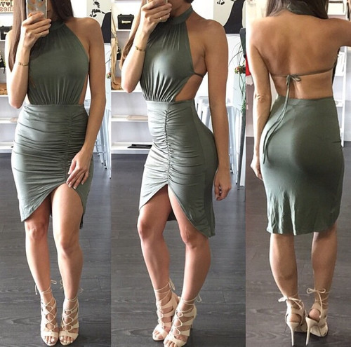 Juicy Open Back Dress