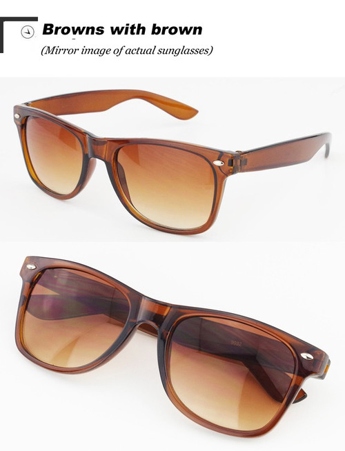 Vintage Classic sun glasses BROWN