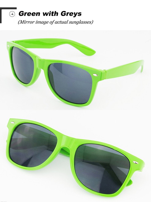 Vintage Classic sun glasses GREEN