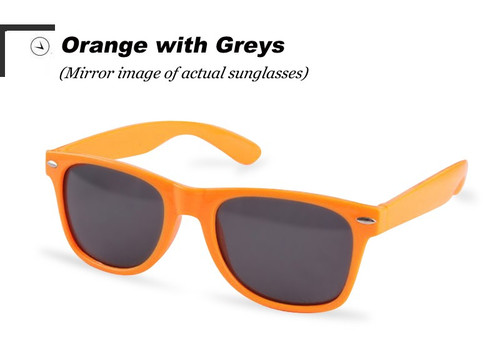 Vintage Classic sun glasses ORANGE