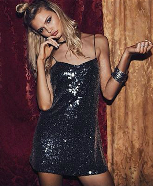 Full Glam Sequins Dress