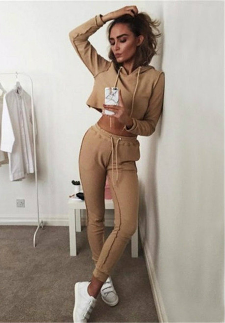 PALACEOFCHIC | Tracksuit Women Hoodies 2-Piece