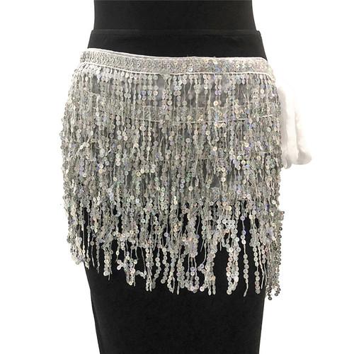 Tassel Sequins Mini Skirt - palaceofchic