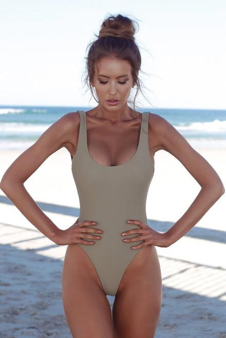Halter One Piece Swimsuit Sexy Women Swimwear Solid Swimsuit Bathing