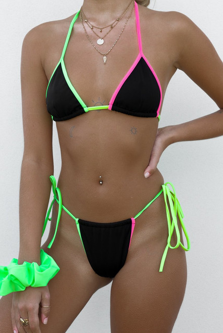 Extreme bikini Micro brazilian swimsuit female bathers Push up sexy swimwear women String bathing suit Triangle bikini 2019 new