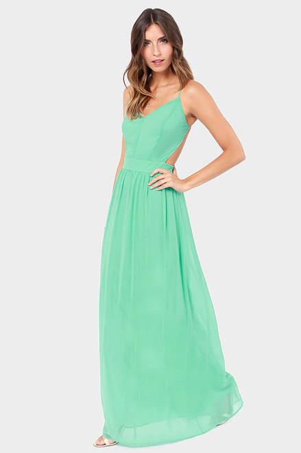 Boho Vaction sleeveless Backless spaghetti strap Maxi Dress