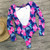 One Piece Swimsuit 2019 New Sexy Long Sleeve Swimwear Women Print Bathing Suit Beach Wear Back Cut Swimming Suits Monokini
