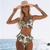 High Waist Women Bikini Set Floral Print Bikinis Push Up Biquini Swimwear Summer Style Swimsuit Bathing Suit Femme Bain