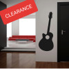 Removable wall decal.   This design is made of quality vinyl and measures 59x72cm.  A clear plastic sheet of film (also known as the transfer sheet) is provided with the decal in order to transfer the design from the backing paper to the wall.  It can also be used to store and re-apply your design should you ever have the need to move it.