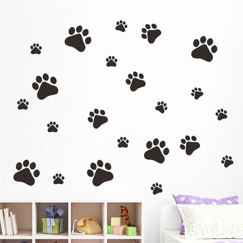 This design is made of quality vinyl and will look great any room of your home.   The example shown measures 36x28cm, but the completed size will depend on your placement  A clear plastic sheet of film (also known as the transfer sheet) is provided with the decal in order to transfer the design from the backing paper to the wall.  It can also be used to store and re-apply your design should you ever have the need to move it.