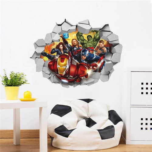 Your little one will love this breakthrough design.  It is a peel and stick design that measures 60x45cm