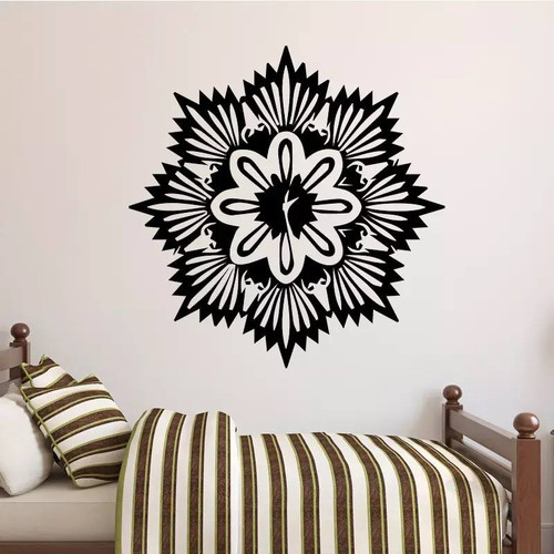 Removable wall decal. This design is made of quality vinyl and will suit any room in your home.  It measures 43x43cm.