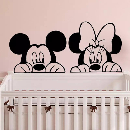 Removable wall decal. This design is made of quality vinyl and will suit any room in your home.  It measures 85x43cm.